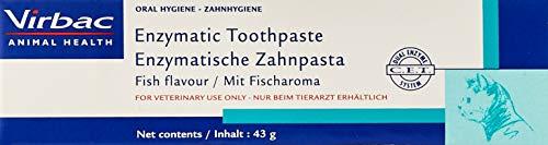 Virbac Enzymatische Zahnpasta Fischgeschmack-43 Gm, Clear, Unisex