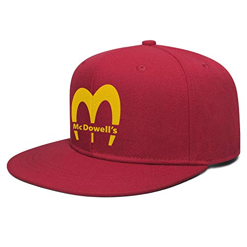 Coming-to-America-McDowell's-Logo- Men Scarecrow Stylish Caps ColorName Sports Hat