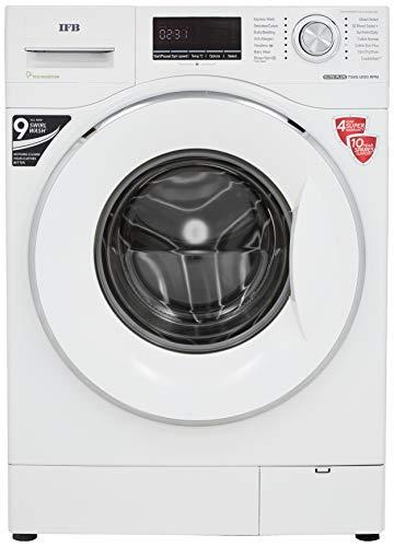 IFB 7.5 kg Fully-Automatic Front Loading Washing Machine (Elite Plus Vx ID, White, Inbuilt Heater, Aqua Energie water softener)