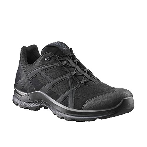 Haix Black Eagle Athletic 2.1 T Low/Black Atmungsaktive Halbschuhe ohne Gore-Tex. 47