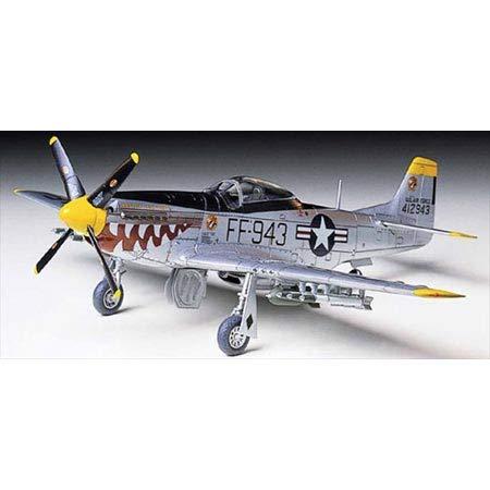 タミヤ 1/72 ウォーバードコレクション No.54 アメリカ陸軍 ノースアメリカン F-51D マスタング 朝鮮戦争仕...