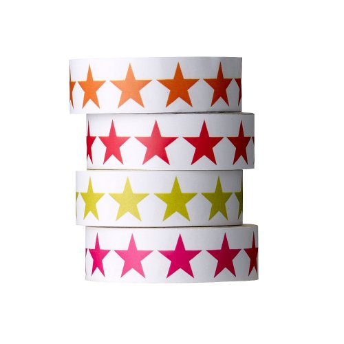 Bloomingville Tape, mehrere Farben, Papier