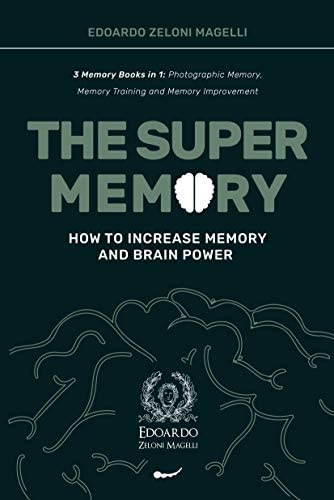 The Super Memory 3 Memory Books in 1 Photographic Memory Memory Training and Memory Improvement product image