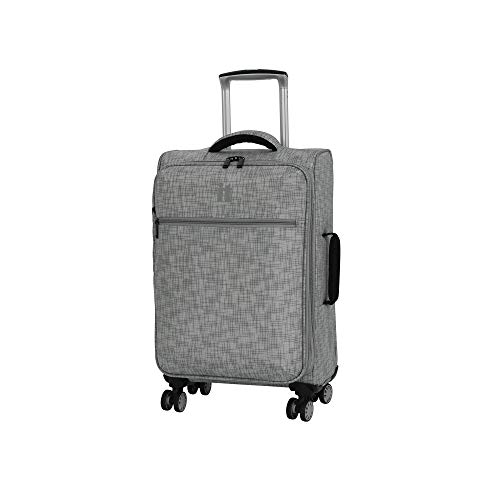 it luggage 21.5' Stitched Squares Lightweight Case, Flint Grey