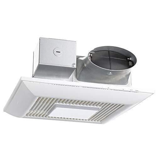 Panasonic FV-0810VSSL1 WhisperValue DC Ventilation Fan with Light, 80 or 100 CFM