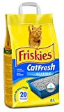 PURINA FRISKIES Lettiera Cat Fresh Classic, 1 confezione da 5 kg, 8 l