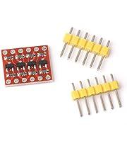 4 Canales de convertidor de Nivel Lógico Bidireccional Módulo Shifter 3.3v-5v