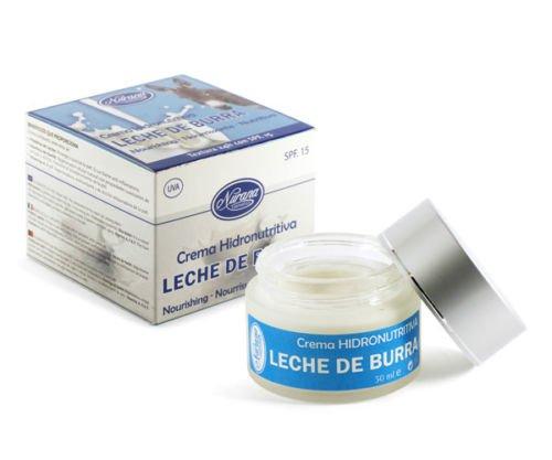 Nurana Leche De Burra (Donkey Milk) Crema Hidronutritiva 50 ml. SPF.15