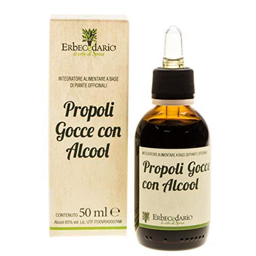 Propoli Gocce Con Alcool Erbecedario, Soluzione Idroalcolica...