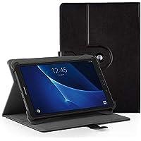 EasyAcc Funda Universal Tablet 10 Pulgadas 360 Grados Rotación para BEISTA LNMBBS MEBERRY TECLAST KXD Broken- jom Huashetrade ZONMAI CHUWI Hi10 X Lenovo TAB10 Tab 2, Negro