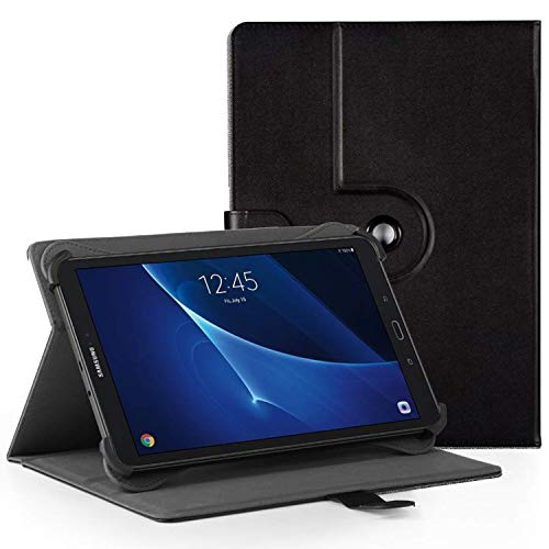 EasyAcc 360 Graden Rotatie, Universele 10 Inch Tablet hoesje Hoes voor Acer Iconia One 10 B3-A40/ Lenovo Tab3 10 Plus 10,1 Zoll/Lenovo Tab 2 A10-70/ XIDO Z120/3G 10 Zoll/Medion Lifetab S10321 10.1