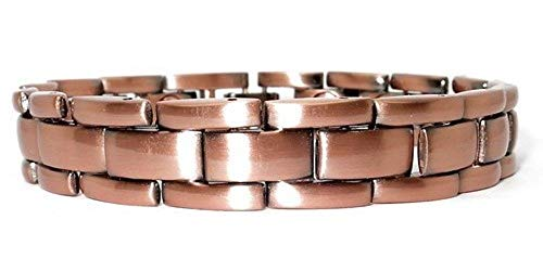 Read About ProExl Mens Power Copper Magnetic Energy Bracelet with Gift Box