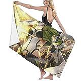 asdew987 Sword Art Online Toalla de playa Juego de toallas de baño baño Accesorios toalla de piscina toalla de viaje y baño 80 cm x 130 cm
