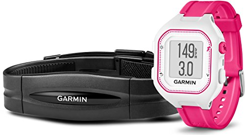 Garmin Forerunner 25 GPS-Laufuhr (Fitness-Tracker, Smart Notifications, inkl. Herzfrequenz-Brustgurt)