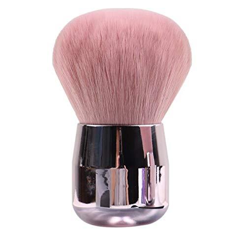 Mwoot Cepillo de limpieza de uñas para acrílico Gel UV Polvo remover cepillo suave Manicura Herramienta, Nail Dust Clean Brush (Rosado)