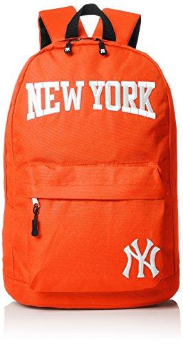 [メジャーリーグベースボール] リュック デイパック カバン かばん 鞄 バックパック 600Dリュック ヤンキース ロゴ レディース メンズ ユニセックス スポーツ YK-MBBK29 オレンジ One Size