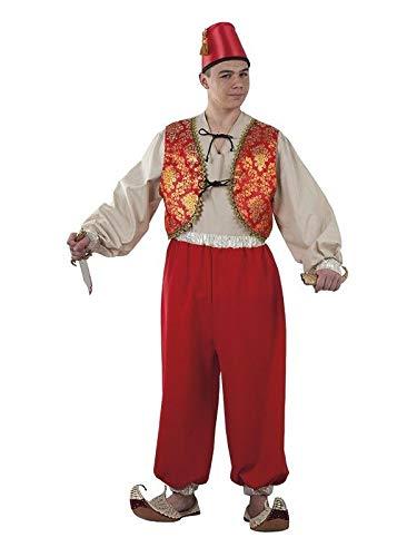 DISBACANAL Disfraz Aladín - -, XL: Amazon.es: Juguetes y juegos