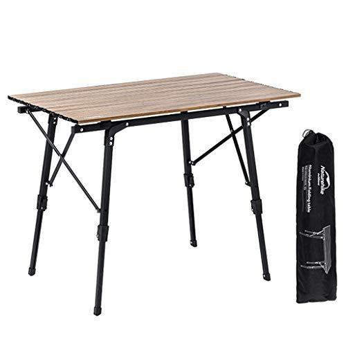 Mesa Camping Plegable Conjunto de combinación de mesa y silla plegables al aire libre, camping al aire libre Camping Casa de ocio Mesa de comedor y silla Portátil plegable de almacenamiento rápido Mes