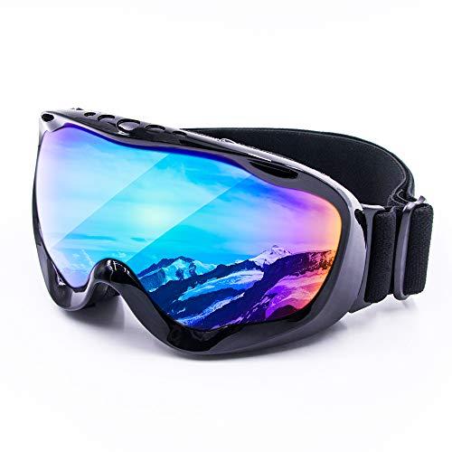 Cynemo Motorcycle Goggles, Ski Snowboard Goggles Anti Fog Wind