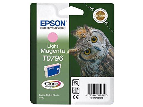 Epson Stylus Photo 1400 (T0796 / C 13 T 07964010) - original - Tintenpatrone magenta hell - 975 Seiten - 11ml