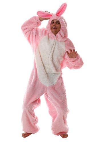 Hasenkostüm rosa in Gr. M für Junggesellenabschied, Mottoparty, Bad Taste Party, Paintball Kostüm