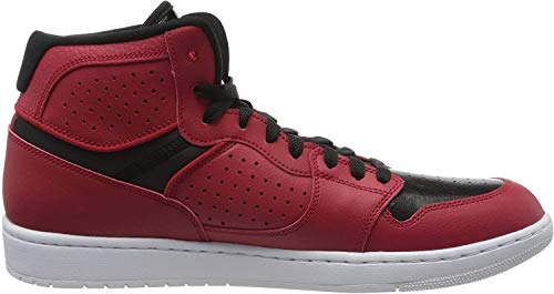 Nike Herren Jordan Access Running Shoe, Gym Red/Schwarz-Weiss, 42.5 EU