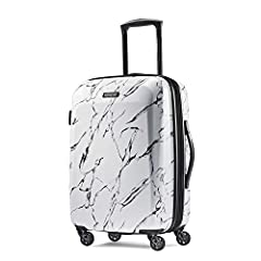 "21 inches Spinner Luggage maximizes your Packing power and meets most carry on size restrictions for those traveling domestically and looking to stay light Packing Dimensions: 20"" x 14"" x 9"", Overall Dimensions: 22"" x 15""x 9.5"", Weight: 8.2 pounds 10..."