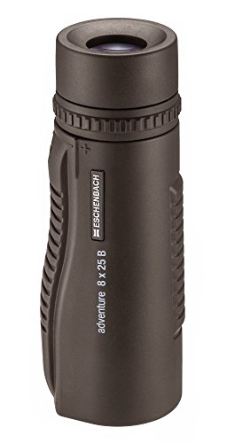 Eschenbach Optik Monokular adventure M 8 x 25, robust, geringes Gewicht, wasserdicht, braun