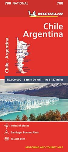 Mapa National Chile - Argentina (Mapas National Michelin)