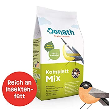 Donath Mélange Complet Premium Oiseaux Sauvages Nourriture 1 kg