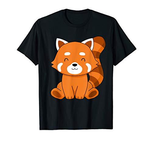 Red Panda Tshirt Kids Kawaii Red Panda Gifts Women Red Panda T-Shirt