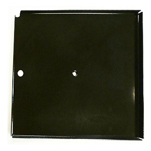 Platte Ersatz-Kochfeld aus emailliertem Stahl für Campingaz Grill 4Series 39x 45cm
