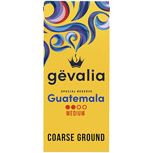 Gevalia Special Reserve Guatemala Single Origin Medium Roast Coarse Ground Coffee (10 oz Bag)