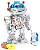 PowerTRC Team R/C Radio Remote Controlled RC Dancing Robot w/ R/C Missile Disc Launcher
