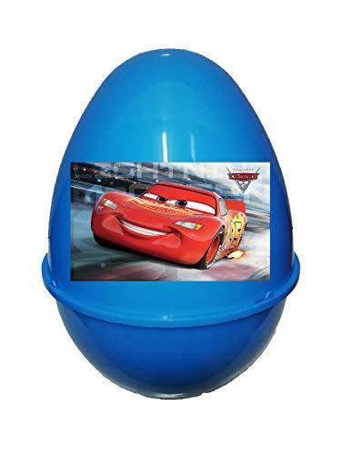 Piscitelli Antonietta Cars Pasqualone Sorpresone Uovo di Pasqua Contenitore con Gadget