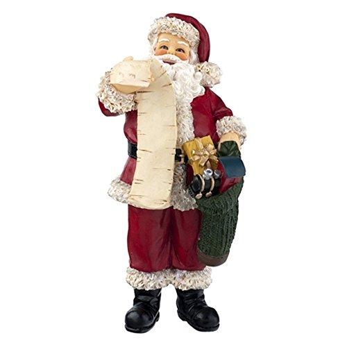 personnages maison de poupées miniature 1:12 résine père noël figurine Père Noël