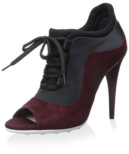 Miu Miu Women's High Heel Shoe Bootie, Amaranto+Nero, 39 M EU/9 M...