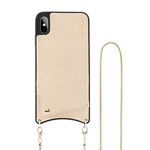iPhone Xs Max Wallet Case,Crossbody Phone Case Wallet Leather Case Credit Card Holder Crossbody Chain Handbag Purse Long Wrist Strap …