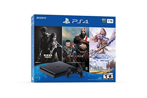 PlayStation 4 Slim 1TB Console - Bundle Exclusivos Ultimate