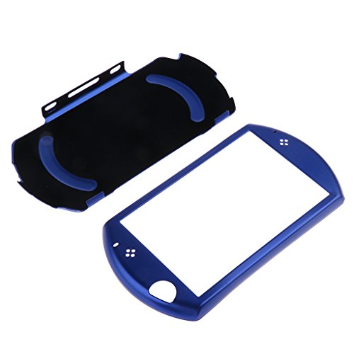 Gazechimp Funda de Piel Rígida de Aluminio Cubierta Adapta perfectamente Accesorios para Sony PSP GO - Azul