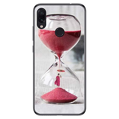 Tumundosmartphone Funda de Gel TPU para Xiaomi Redmi Note 7 diseño Reloj...
