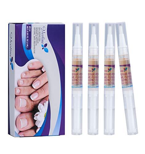 4 Stück * 3ml Nagelpflege Stift Nail Treatment Nägel und Nagelreparatur Stift Nagelpflege pflegend Entfernen Ablagerungen Reparatur Nägel an Händen und Füßen Jeweils