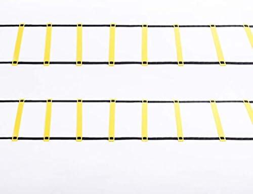 YOZ Agile Ladder handige snelheidsladder Kan worden gebruikt voor behendigheidstraining van voetbal basketbal voetenwerk flexibiliteit