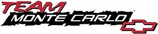 Team Monte Carlo - Sticker Graphic - Auto, Wall, Laptop, Cell, Truck Sticker for Windows, Cars, Trucks