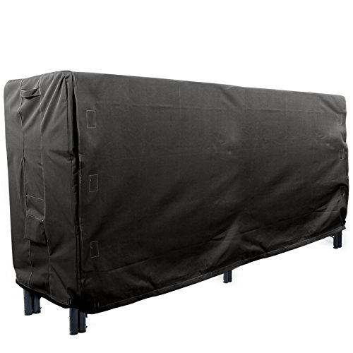 Our #5 Pick is the Khomo Gear Panther Series Heavy Duty Log Rack Cover