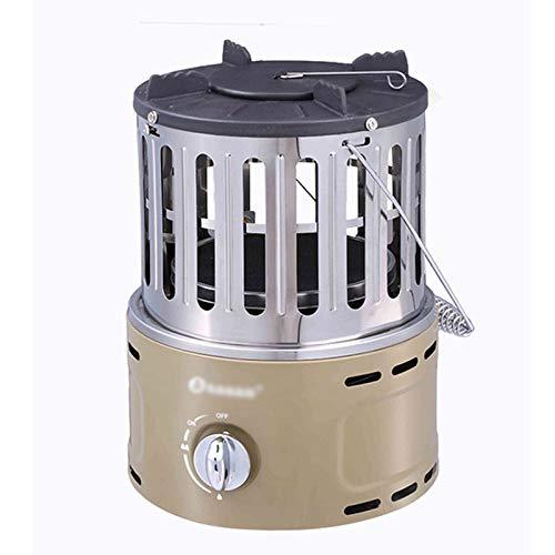 zunruishop Calentador de Ventilador eléctrico Terraza Calentador Portátil Estufa de Gas licuado for Agua hirviendo en el Inodoro Cubiertas para radiadores