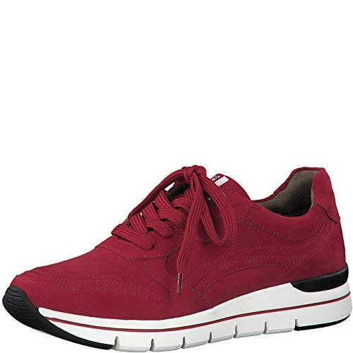 Marco Tozzi Earth Edition 2-2-23771-25 Sneaker, Zapatillas Mujer, Rojo, 37 EU