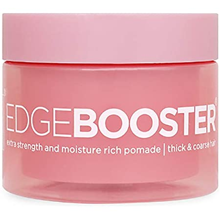 Style Factor Edge Booster Extra Strength Moisture Rich Pomade | Thick Coarse Hair (Pink Sapphire))
