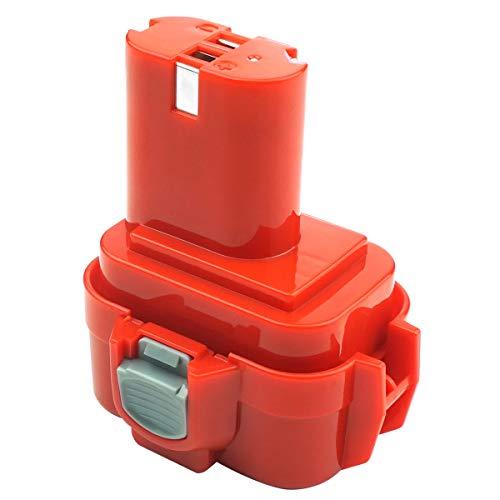 ADVNOVO 9.6V 3.5Ah Ni-MH Batterie pour Makita PA09 9120 9122 9134 9100 9100A 9101A 9102 6207D 192595-8 192596-6 192638-6 193977-7 638344-4-2 Makita 9.6V Batterie