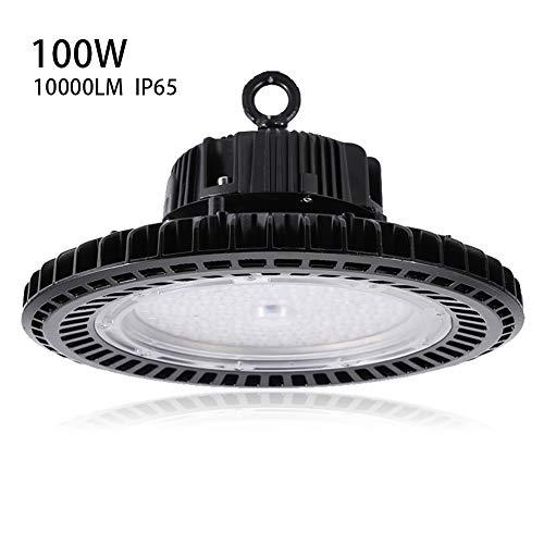 Cocoarm 100W LED UFO industriële lamp LED zaalschijnwerper halslamp kroonluchter plafondlamp voor binnen en buiten halsverlichting werkplaatsverlichting 110 lm/W beschermingsklasse IP65